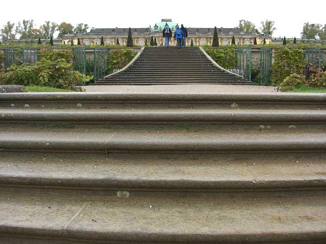 Treppe im Schlossgarten
