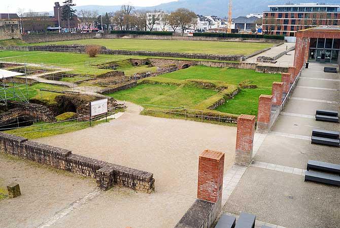 Die Kaiserthermen gehört zu den beliebtesten Sehenswürdigkeiten in Trier