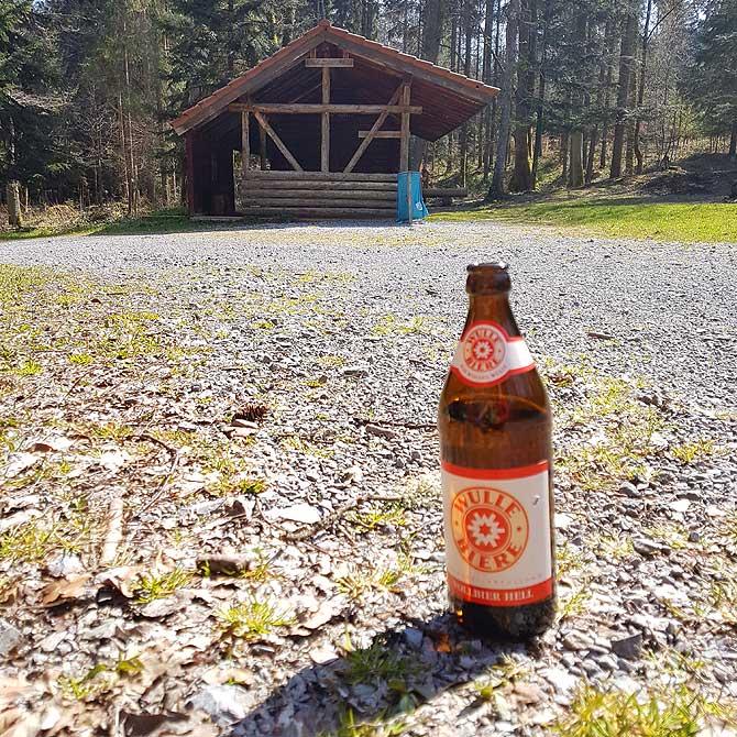 Bierchen an der Hegarhütte