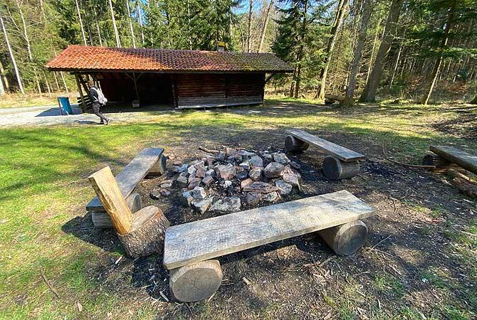 Grillstelle Hegarhütte Hohenwart