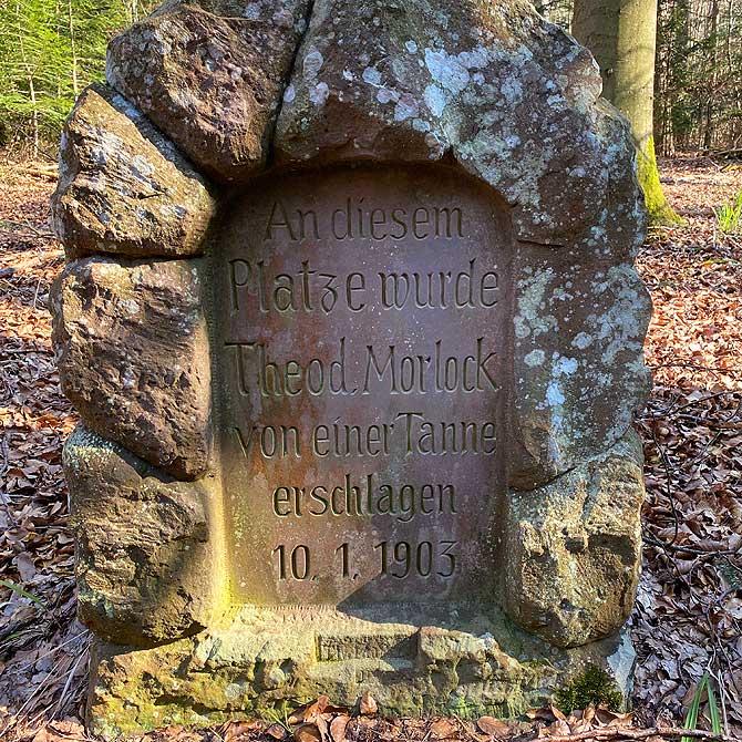 Gedenkstein Theodor Morlock