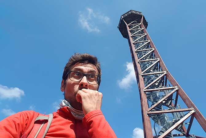 Dein Deutschland Reiseblog am Aussichtsturm Hohe Warte bei Pforzheim