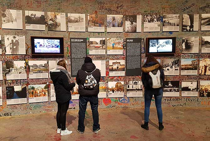 Ausstellung im Berliner Mauerpanorama