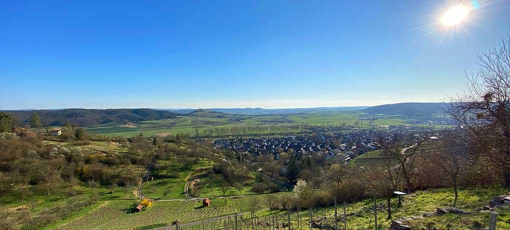 Wandern vor den Toren Stuttgarts bei einer Wanderung im westlichen Schönbuch