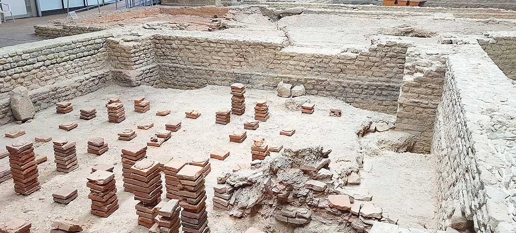 Der Archäologische Park Cambodunum in Kempten ist ein beliebtes Ausflugsziel im Allgäu