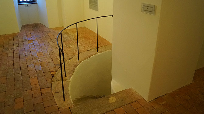 Eingang in die Kasematten