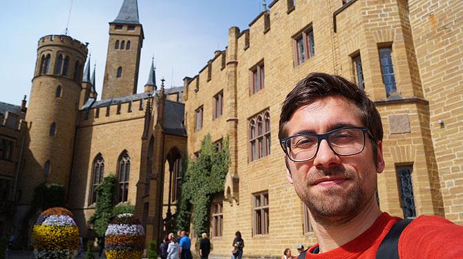 Dein Deutschland Reiseblog ist auf Burg Hohenzollern unterwegs