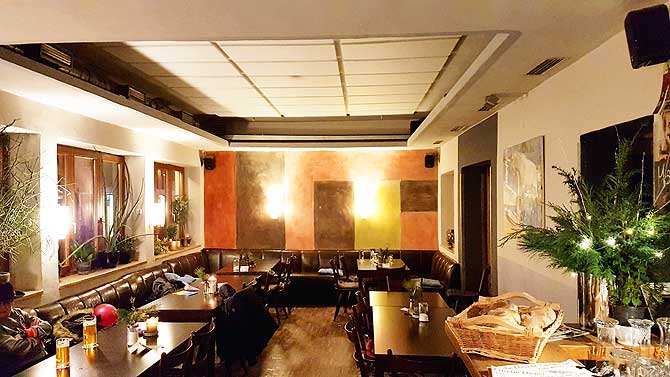 Cafe Weichhardt in Biberach von innen