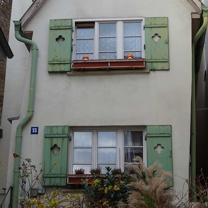 Kleines Haus auf dem Weberberg