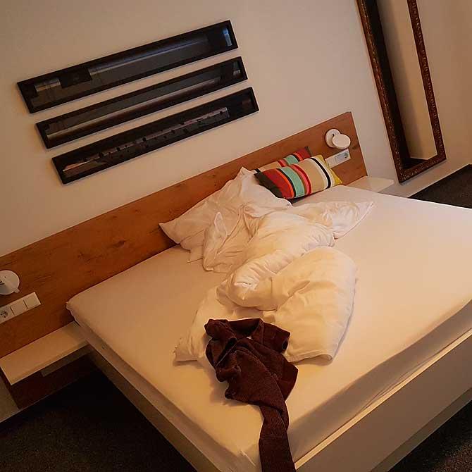 Hotel-Doppelzimmer zum Zwinger Biberach