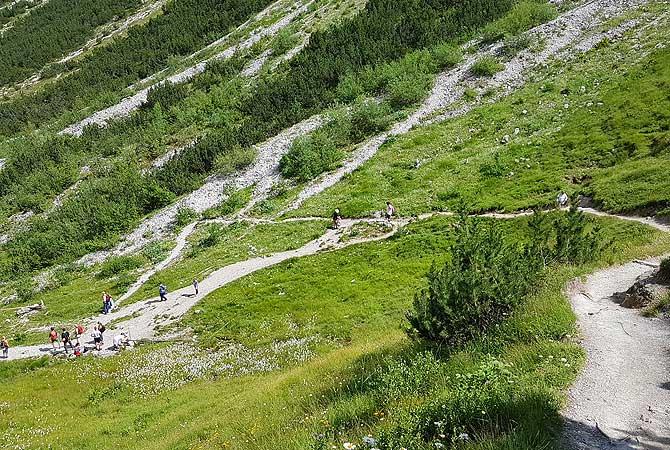 Wanderung von Oberjoch auf den Berg Iseler bei Bad Hindelang