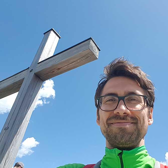 Dein Deutschland Reiseblog auf dem Gipfel des Berg Iseler von Bad Hindelang