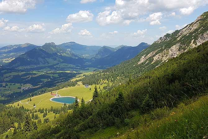 See an der Wiedhag-Alpe