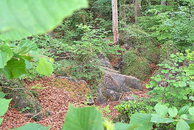 Bilder vom Felsenmeer in Hemer