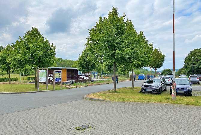 Parken am Sauerlandpark in Hemer
