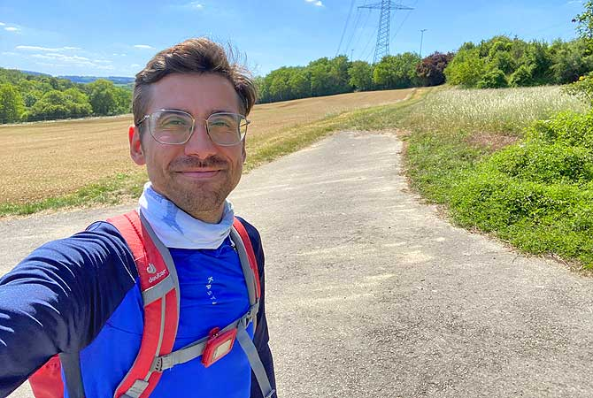 Dein Deutschland Reiseblog beim Wandern im Kreuzbachtal bei Vaihingen an der Enz