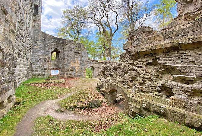 Ruine Blankenhorn Eibensbach