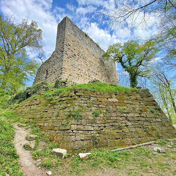 Ruine Blankenhorn Eibensbach Güglingen