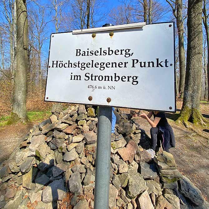 Baiselsberg, höchster Punkt im Naturpark Stromberg Heuchelberg