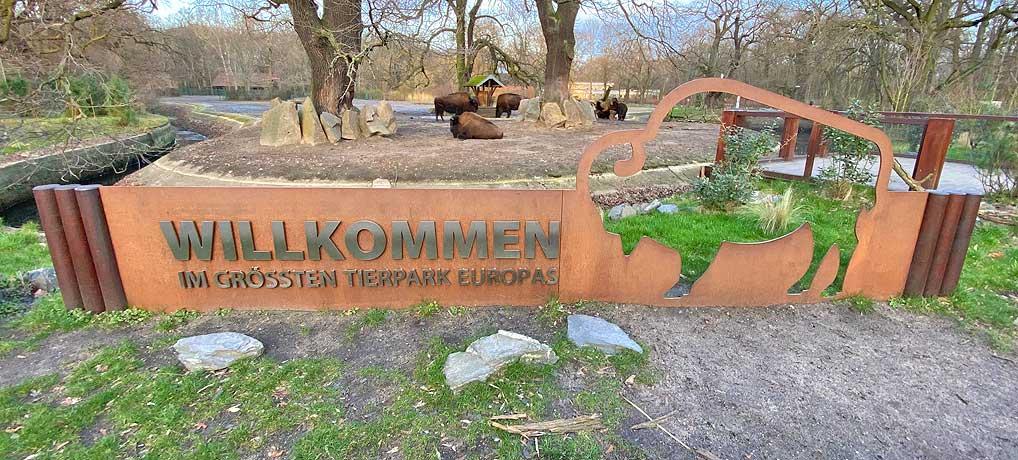Der Berliner Tierpark ist eine der beliebtesten Sehenswürdigkeiten in Berlin