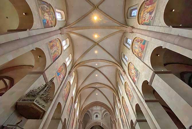 Dom Mainz Kirchenschiff