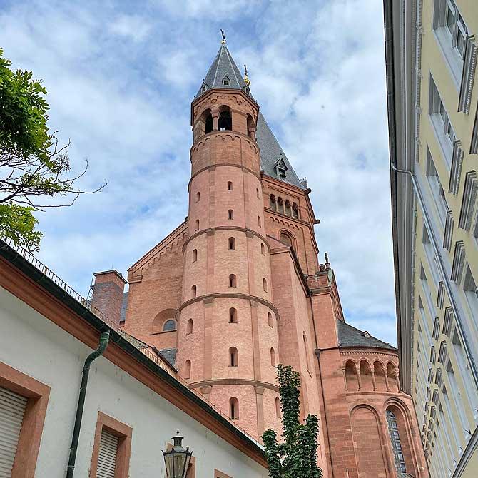 Instagram Setting vom Mainzer Dom