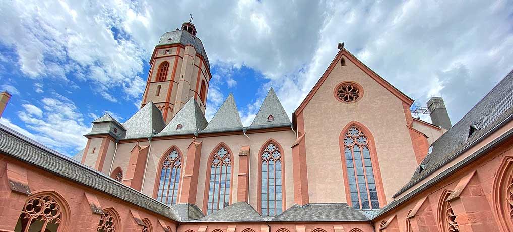 Die Kirche mit den Chagall Fenstern ist eine der beliebtesten Sehenswürdigkeiten in Mainz