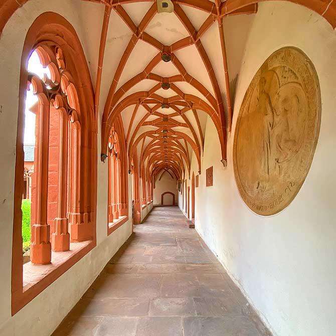 Kreuzgang St. Stephan Kirche Mainz