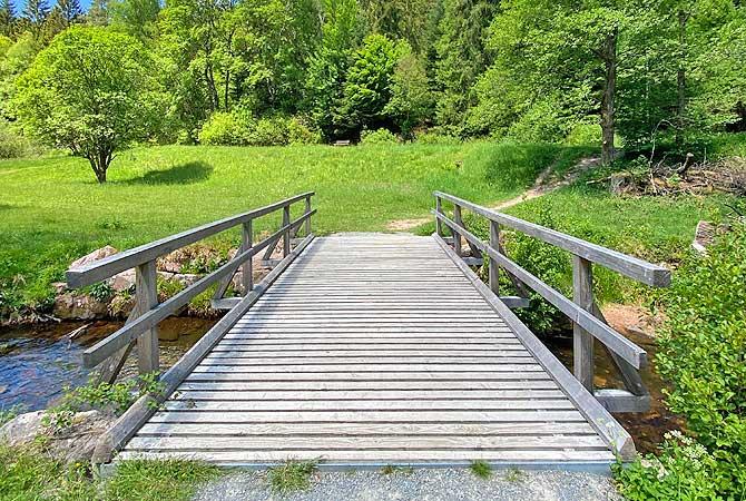 Brücke im Eyachtal