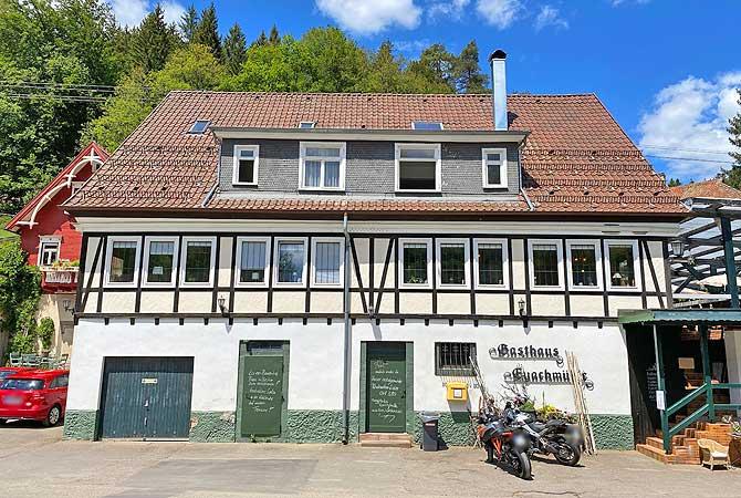 Gasthaus Eyachmühle im Eyachtal