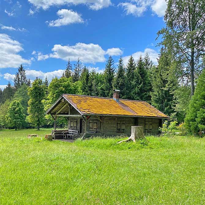 Typische Hütte im Schwarzwald