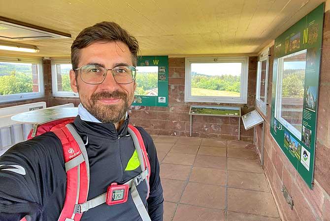 Dein Deutschland Reiseblog im Aussichtsturm Dobel im Eyachtal