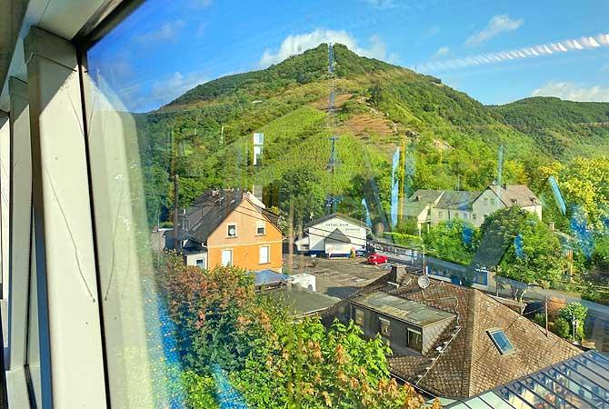 Ausblick auf Seilbahn Boppard und Rip