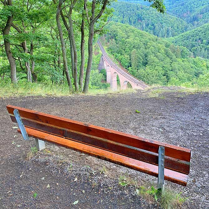 Hütte Liesenfeld Aussicht