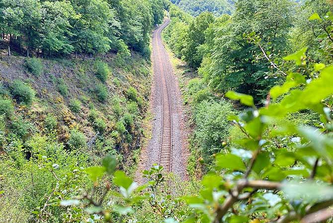 Talberg-Tunnel Trainspotting