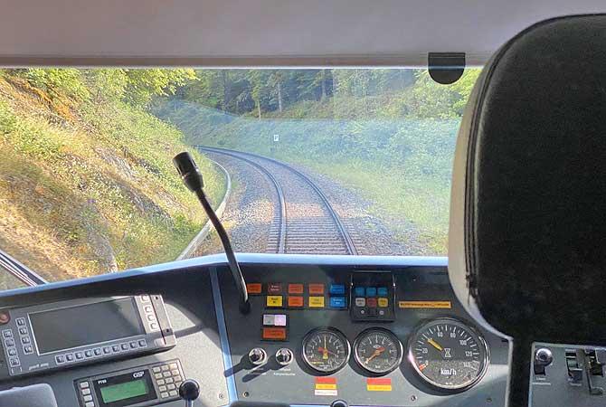Hunsrückbahn vom Boppard nach Emmelshausen Bahnhof