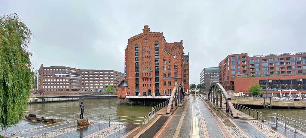 Das Internationale Maritime Museum in der Hamburger Speicherstadt ist ein top Ausflugsziel bei Regen