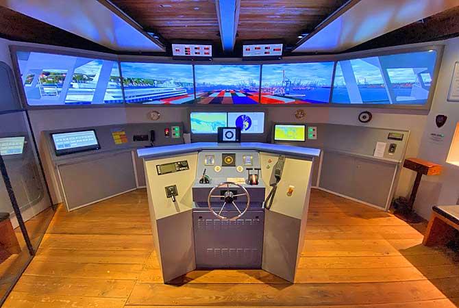 Maritimes Museum Schiffsimulator