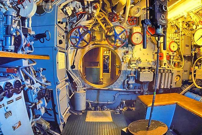 U-Boot im Maritimen Museum Hamburg