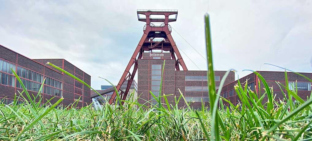 Die Zeche Zollverein in Essen ist eines der top Ausflugsziele im Ruhrpott