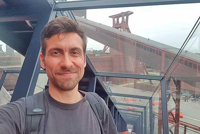 Dein Deutschland Reiseblog unterwegs in der Zeche Zollverein in Essen