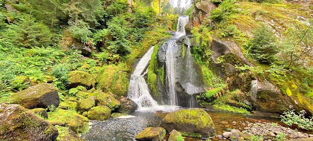 Die Triberger Wasserfälle sind ein sehr beliebtes Ausflugsziel im Schwarzwald