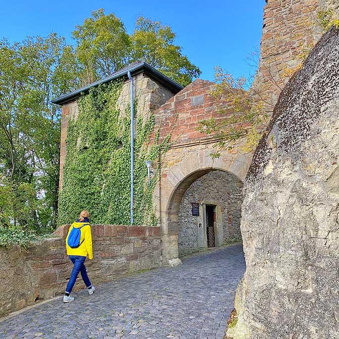 Schloss Waldeck Eingang