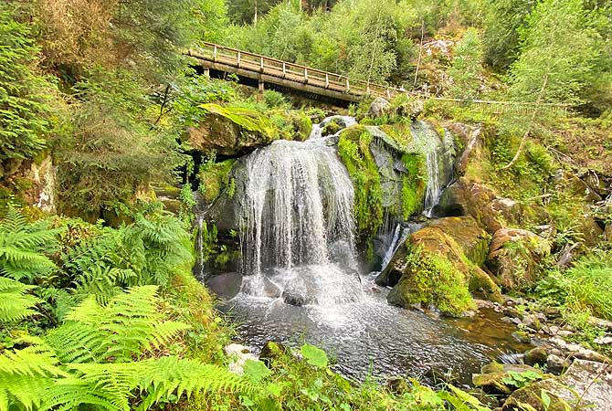 Wasserfall in Triberg