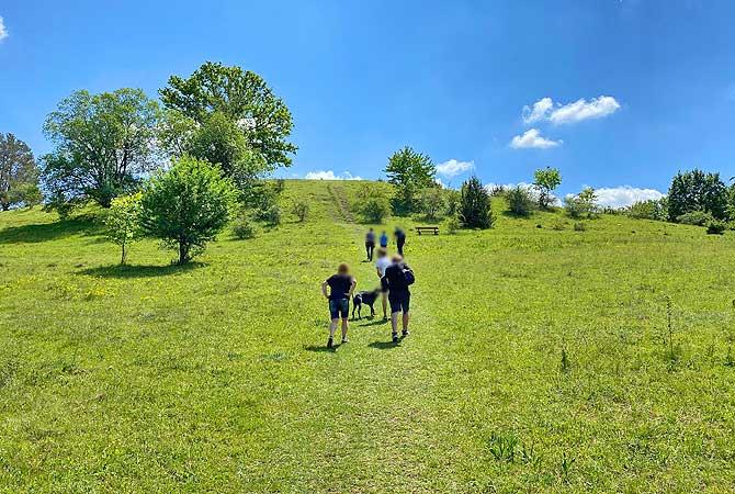 Aufstieg zum Burren