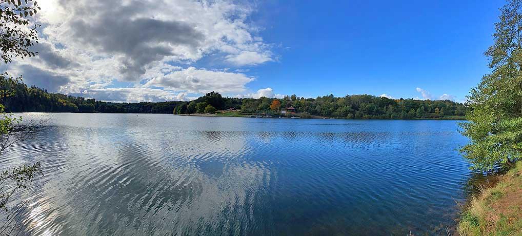 Der Twistesee ist ein beliebtes Ausflugsziel in Bad Arolsen