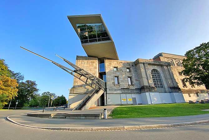 Das Dokuzentrum in Nürnberg von außen