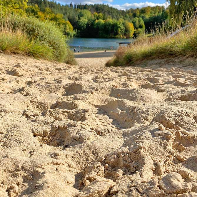 Strandbad Kleine Reise am Twistsee-Westufer