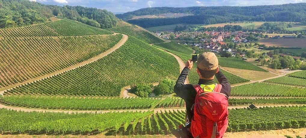 Wanderung von Häfnerhaslach zum Wachtkopf bei Gündelbach