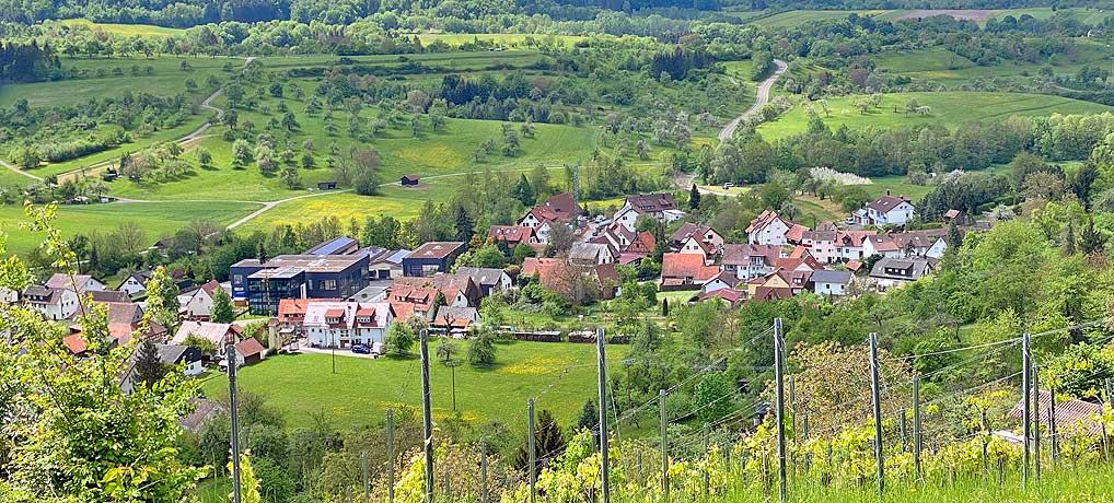 Die Wanderung im Schwäbischen Wald im Däfern und Schloss Ebersberg ist ein tolles Ausflugsziel.